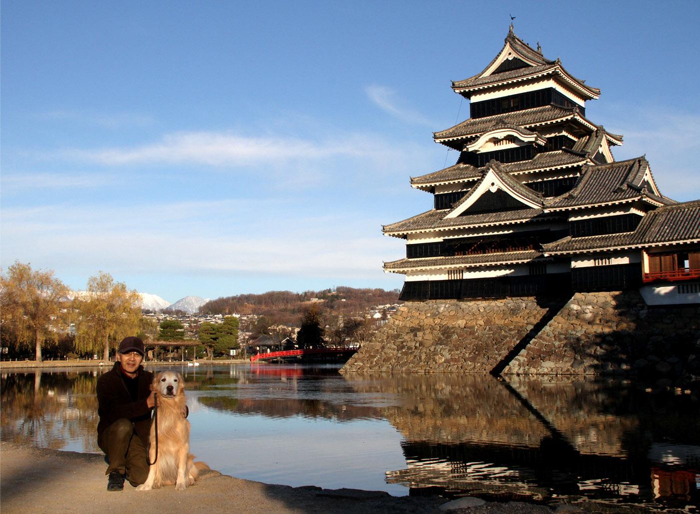 松本城とヒット(5)