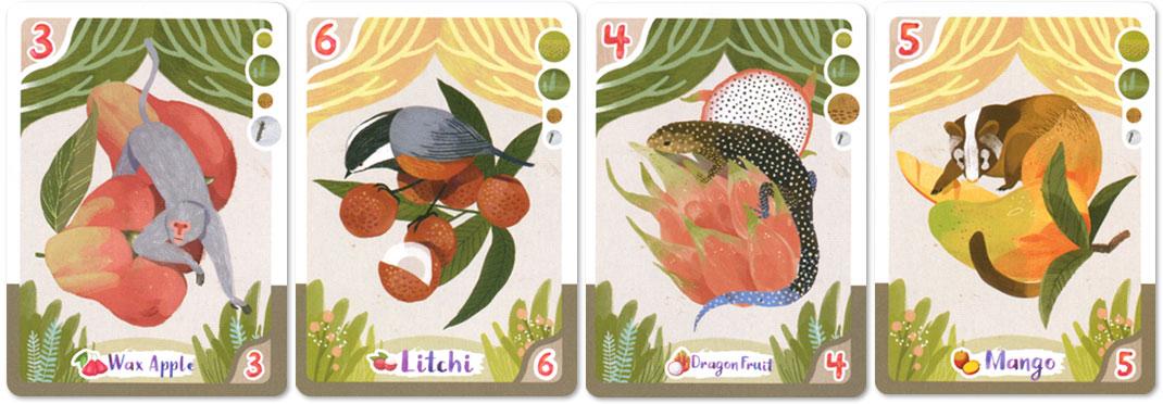 四季の森:カードイラスト