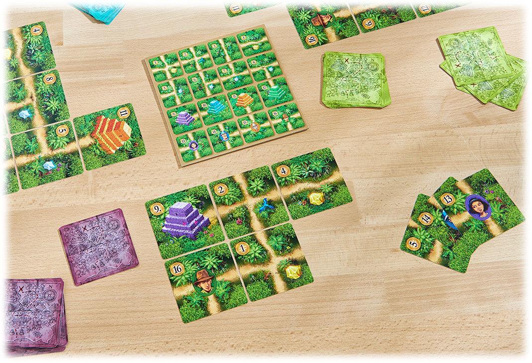 カルバ:カードゲーム:展示用写真