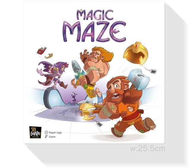 マジックメイズ:箱
