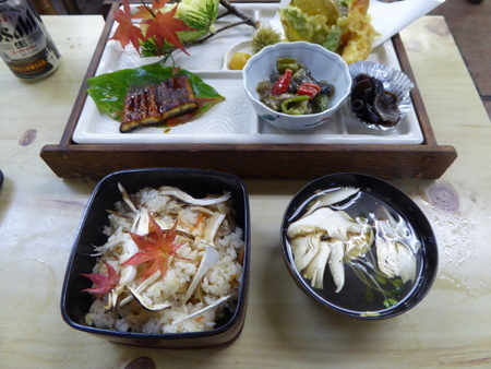 20170924マツタケ定食