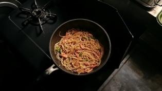 醤油スパゲティ