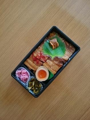 鹿児島黒豚角煮弁当(萬來)