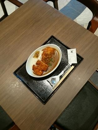 守谷SA大かまど飯寅福守谷食堂つくば鶏のジャンボチキンカツカレー4