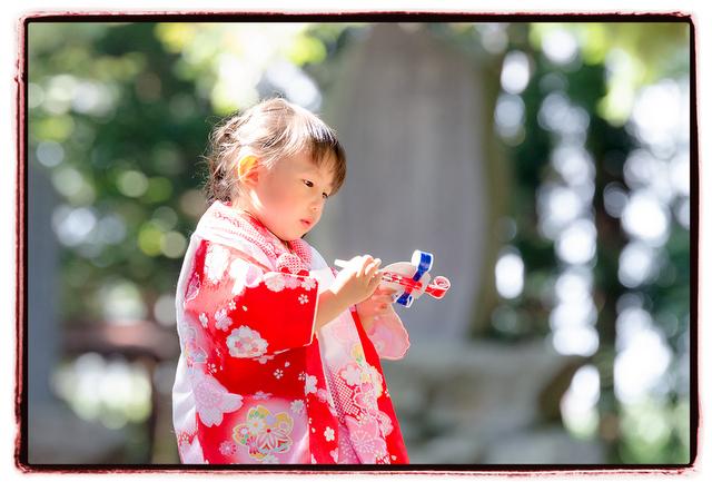 青森県 猿賀神社 七五三 詣り 参り お宮参り 出張 記念 写真 撮影 カメラマン 神社 ロケーション