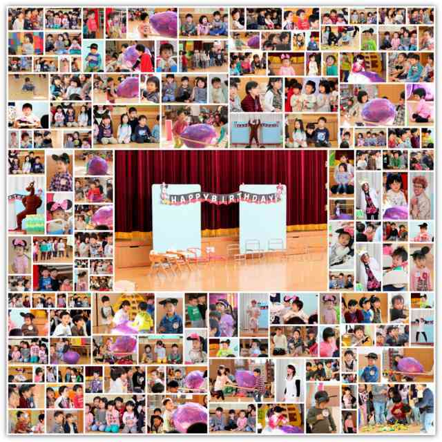 青森県 弘前市 保育園 誕生会 出張 写真 撮影 カメラマン スナップ インターネット 販売 イベント 記念 行事 大会