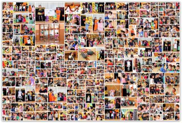 青森県 弘前市 保育園 行事 イベント 集会 ハロウィン スナップ 写真 撮影 出張 カメラマン インターネット 販売