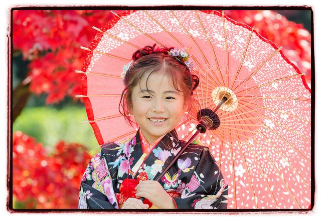 青森県 弘前市 藤田記念庭園 七五三 記念 写真 撮影 ロケーション 出張 カメラマン