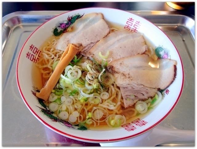 青森県 弘前市 1コインランチ ワンコインランチ 焼麺屋 にぼてつ ラーメン 豚バラ 中華 ランチ