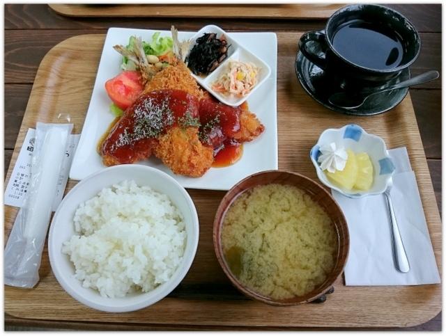 青森県 田舎館村 1コインランチ ワンコインランチ ランチ グルメ 写真 カフェ食堂 田さ恋