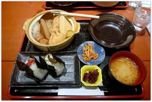 青森県 弘前市 土手町 フォーク酒BAR てふてふ ランチ グルメ おでん 定食