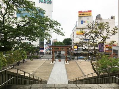 宇都宮二荒山神社、の階段