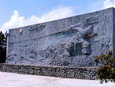 大社ご縁広場(壁画)