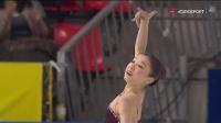 エリザヴェート (カザフスタン) 2017 フランス杯 Figure Skating SP