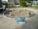 抗菌砂、トキサンドクリーンを配置