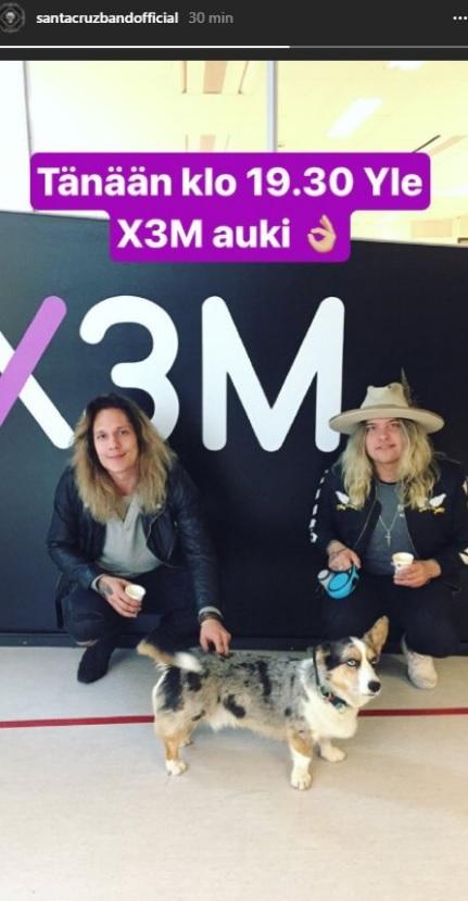 Santa Cruz IG story 04_10_2017 Yle X3M