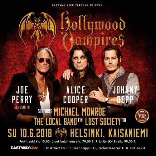 Hollywood Vampires 10_06_2018 Helsinki