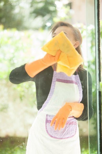 窓ガラス 拭き