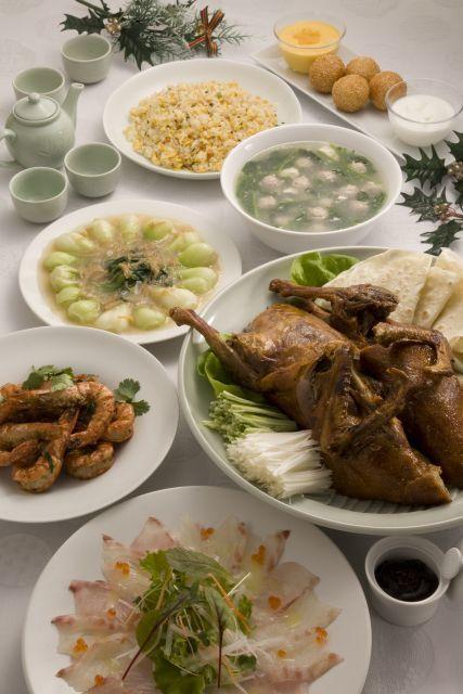 中華コース 料理