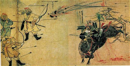 元が日本を侵攻できなかったのは、搬送中に馬が弱ってしまったからだった?