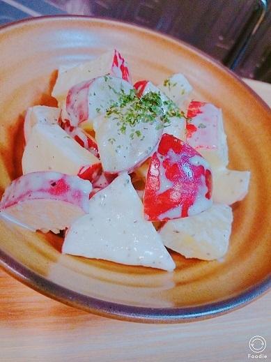 201710林檎サラダ