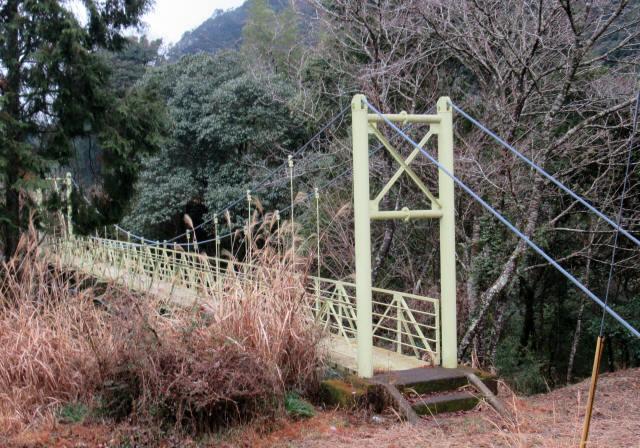 江代の吊橋1