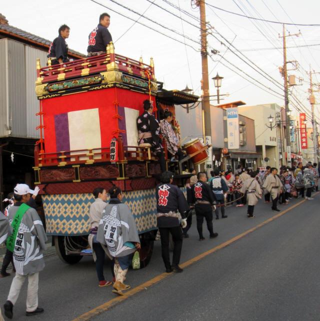 上町の山車9