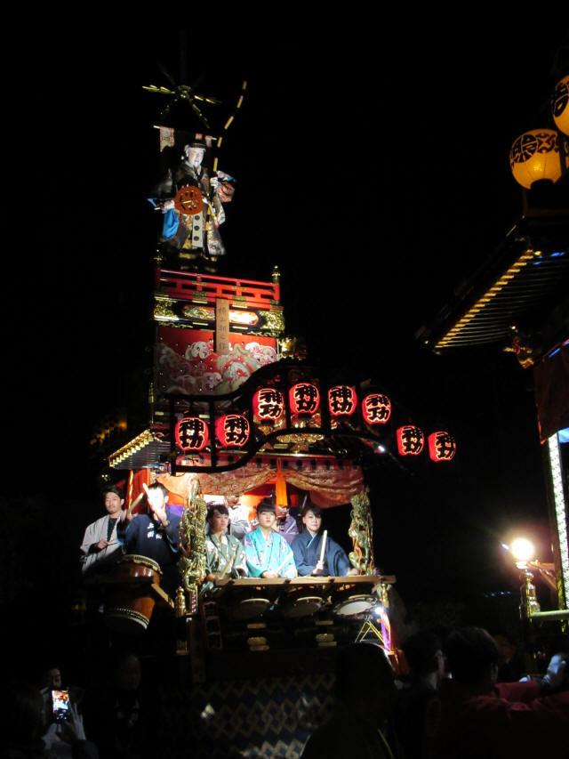上町の山車4