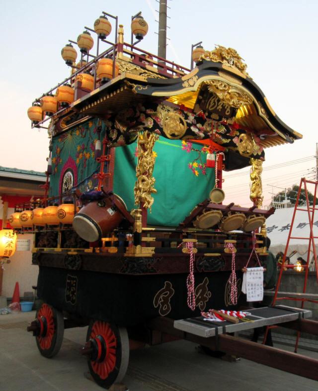 宮本町の山車4