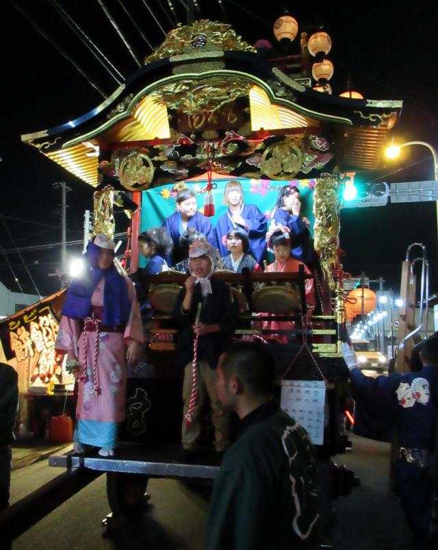 宮本町の山車9