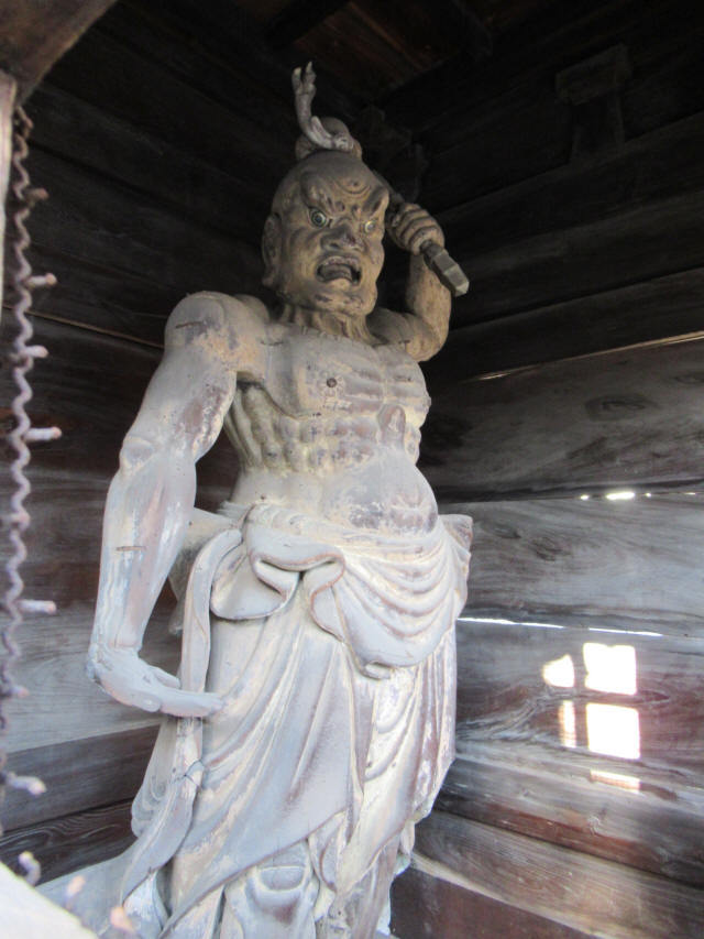 西國寺仁王門8