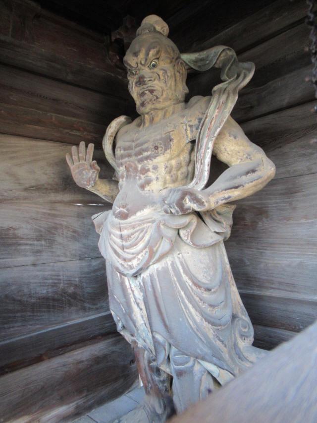 西國寺仁王門9