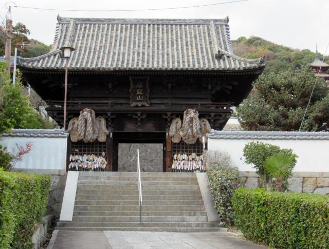 西國寺仁王門2