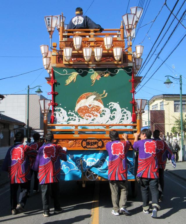 諏訪町の山車7