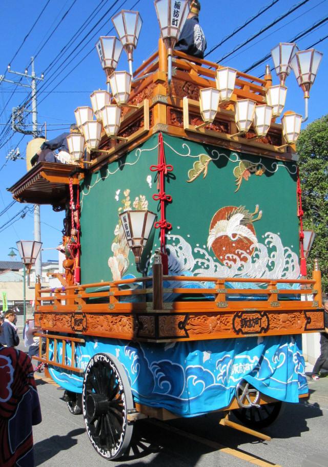 諏訪町の山車8