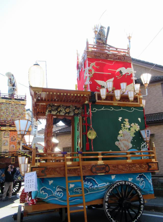 諏訪町の山車5