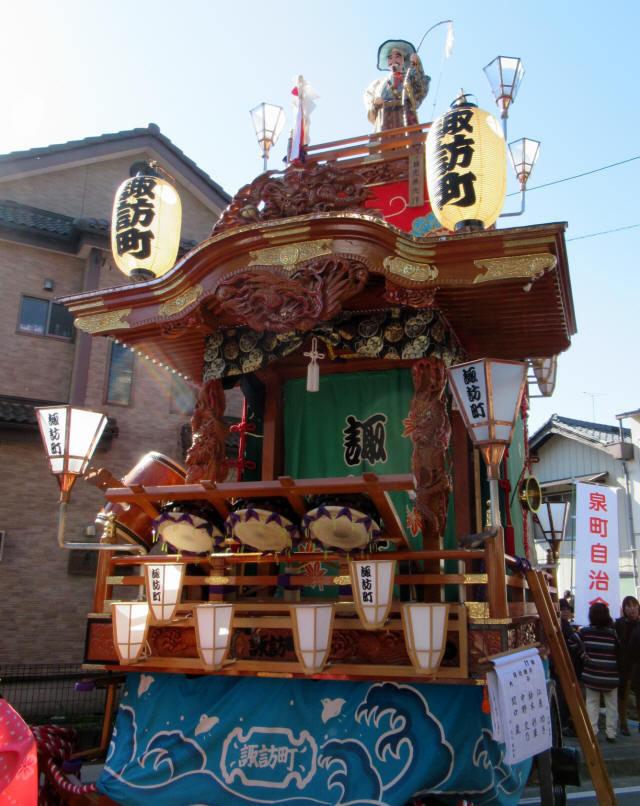 諏訪町の山車2
