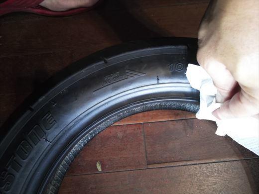 タイヤ交換(フロント) (17)