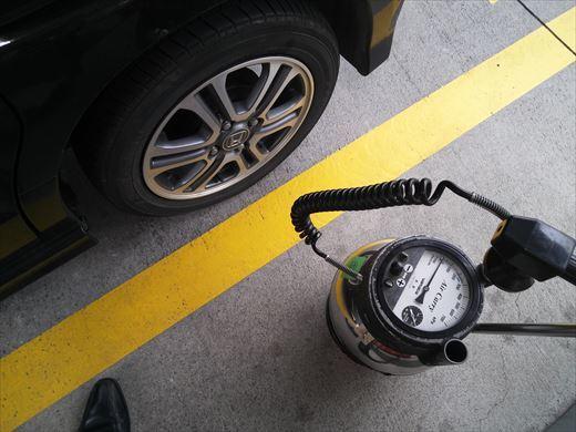 タイヤの空気 (1)