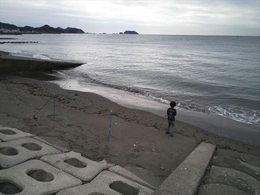 富津市の海で釣り (7)