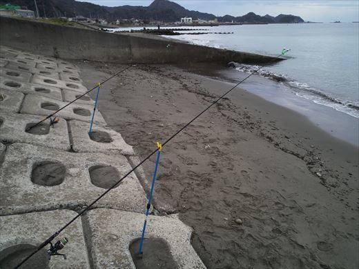 富津市の海で釣り (9)