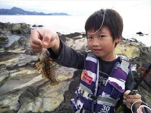 富津市の海で釣り (17)