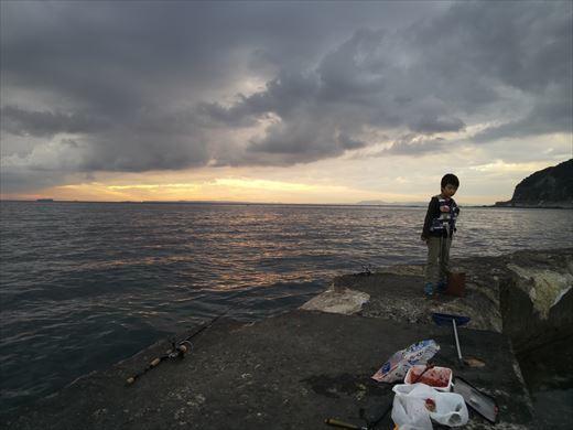 富津市の海で釣り (23)