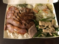 叉燒鴨肉飯171113