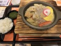 酸菜白肉鍋定食171115