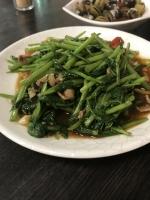 空芯菜炒牛肉171129
