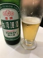台湾金牌ビール171202