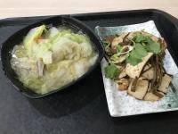 豆干海帯と滷白菜171215