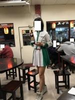 台湾ビール売り子さん180112