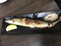 秋刀魚塩焼き180112